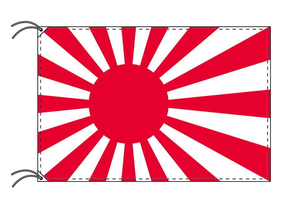 【レンタル】 3泊4日レンタル旗 海軍旗(旗単品)[テトロン・90×135cm国旗]安心の日本製