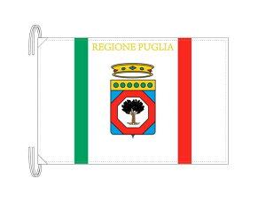 イタリア・州旗 プッリャ州(50×75cm・高級テトロン製・日本製)