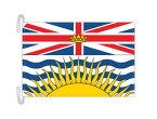 ブリティッシュコロンビア州 カナダ 州の旗 州旗 50×75cm