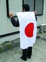 日本代表応援用 国旗 日の丸・水をはじく撥水加工付き[テトロン・70×105cm]安心の日本製