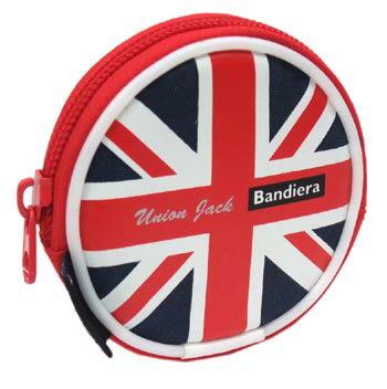 国旗柄 コインケース・カラビナ付き イギリス ...の紹介画像2
