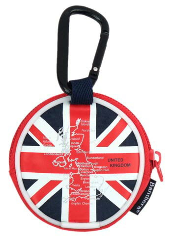 国旗柄 コインケース・カラビナ付き イギリス ...の紹介画像3