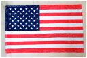 世界の国旗 ひざ掛け・ブランケット アメリカ合衆国柄USA・星条旗(マイクロファイバー生地)スポーツ観戦応援用フラッグ