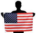 世界の国旗 アメリカ国旗・星条旗・[50×75cm ポリエステル]あす...