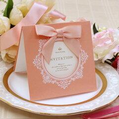 【招待状】結婚式・ウエディング・ブライダル・ペーパーアイテム・印刷物・手作り・オリジナル...
