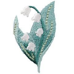 【手芸キット アイロン接着】立体的に表情豊かな刺しゅうで仕上げた花々のワッペン♪【20%割引...