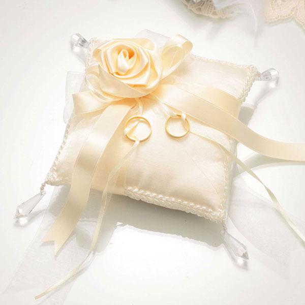 バラのスウィートリングピロー(rp19)(手作りキット)手芸キット Panami(パナミ)花 薔薇 ばら ローズ リボン パールビーズ