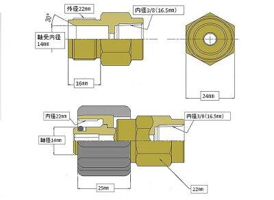 (業務用)高圧洗浄機ホースリール高圧ホースやらかめ40メートル耐圧210K3分(3/8)(M22カプラ付)A社製
