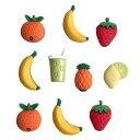アメリカ ボタンガローア10個-フルーツスムージー