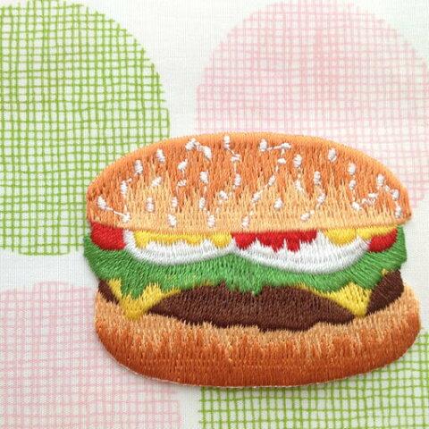 アップリケワッペン ハンバーガー W-0177 UI