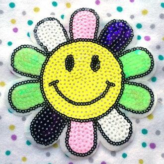 貼花貼片珠片黛西的笑臉
