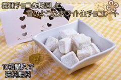 シリーズ累計26万個突破の大人気生チョコシリーズ☆濃厚で雪のような口どけのホワイト生チョコ...