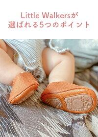 【リトルウォーカー】幼児用靴子供用靴靴シューズファーストシューズベビーキッズおしゃれデザインカジュアルデニム柄マジックテープハードラバーナチュラルおすすめオススメ