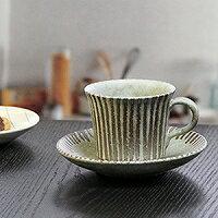 信楽焼咖啡杯/淡綠線咖啡碗盤子/陶器咖啡/器/碗盤子/陶瓷器/咖啡廳啤酒杯/碗盤子/信樂/以及多達和服/土的/啤酒杯茶杯/餐具/茶杯/啤酒杯/shigaraki