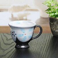 Shin 長崎陶杯 ! 藍色的花杯 ! 地球 / 馬克杯 / 菜 / 陶瓷杯 / 咖啡杯 / 咖啡碗 / 杯啤酒 / 咖啡廳杯 / 杯 / 啤酒杯