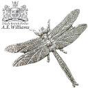 ピンバッジ(ラペルピン/ピンブローチ/ピンズ)スーツ|メンズ・レディース 蜻蛉(トンボ)|イギリス製 AEW社 ピューター/錫 [メール便OK]
