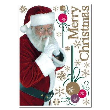 イタリア製 ウィンドウステッカー サンタクロース 1枚入り シール シート インテリア 窓 ガラス 目隠し DIY お店 デコレーション パーティー クリスマス Xmas Christmas