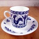 Gillian Naylor コーヒーカップ&ソーサートライバル 英国製 キッチン雑貨 食器 ボーンチャイナ マグカップ コップ シンプル かわいい おしゃれ ギフト プレゼント