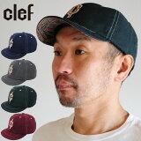 帽子 キャップ メンズ レディース 小つば CLEF クレ アウトドア