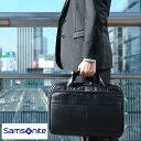 Samsonite サムソナイト LEATHER BUSINESS CASES レザーブリーフケース 48073-1041 /男性用/メンズ/ビジネ...