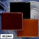 コードバン 二つ折り財布 日本製 BRIT HOUSE コードバン 二...