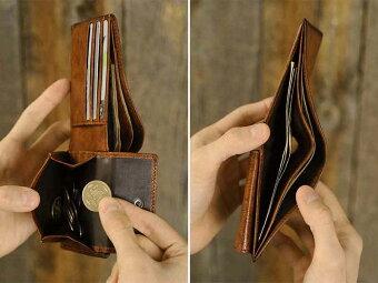 二つ折り財布 小銭入れあり G-3