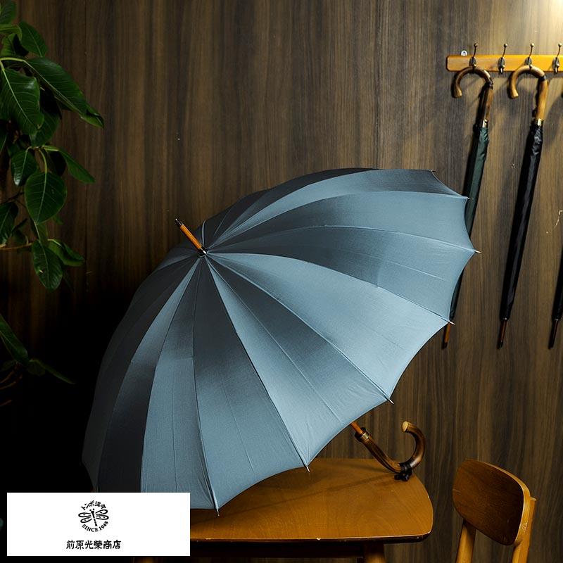 傘, メンズ雨傘  16 60cm TRAD-16