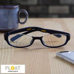 FLOAT Urban Earth リーディンググラス Ocean アンダーリムタイプ スクエア型 男性用 メンズ 老眼鏡 ブルーライトカット おしゃれ 1.5 2.0 2.5 3.0 リーディンググラス シニアグラス おじいちゃん プレゼント ギフト 【あす楽対応】