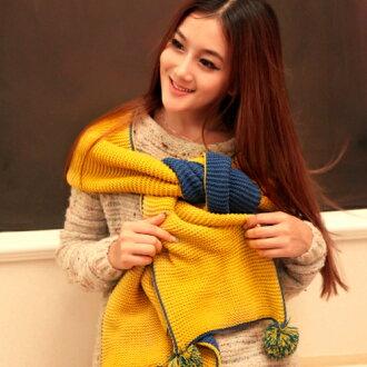 可愛貓咪 POS 非可逆圍巾圍巾婦女織的圍巾女士圍巾針織圍巾婦女 Bon Bon 與消聲器這長長的圍巾