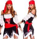 女海賊 コスチューム ハロウィン コスプレ 衣装ハロウィン コスプレ 衣装 メール便不可 コスプ...