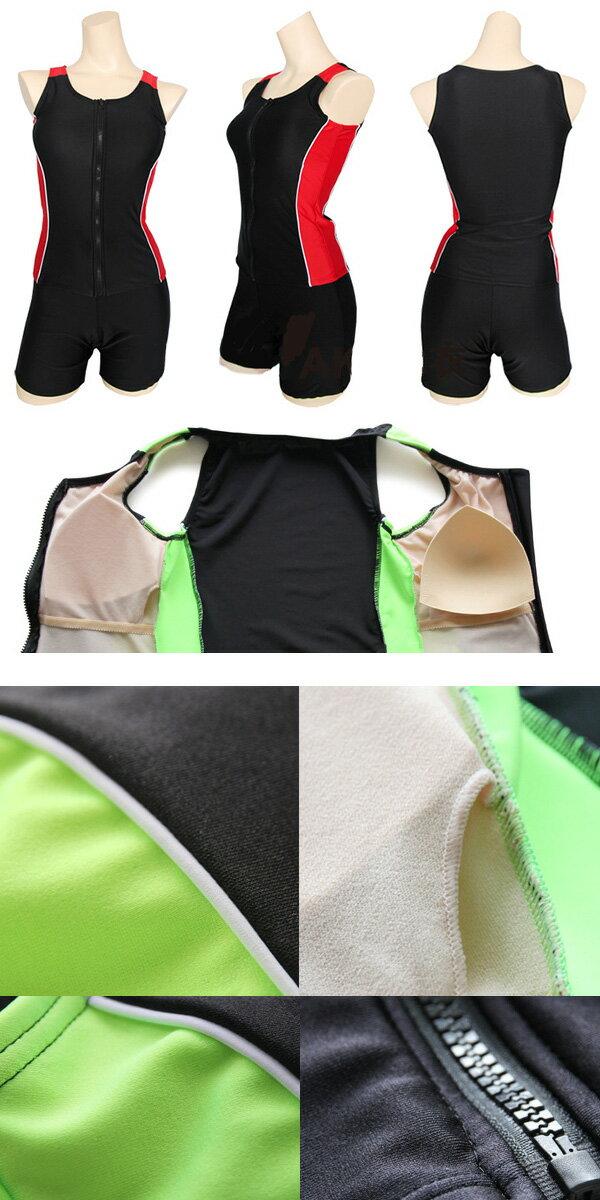 水着レディース体型カバーフィットネスタンキニワンピース袖なしノースリーブ女の子前開きジップアップビキニ大きいサイズフリルショートパンツスカートYYCY1401ネコポス不可トップスセット2015新作UV