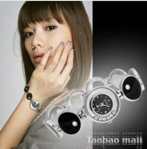 大人気ブレスレット時計〜カジュアルにも大人っぽくも品のあるストーン付きレディース腕時計【...