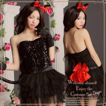 ハロウィン コスプレ 黒猫 コスチューム 猫コスプレ 仮装 コスプレ衣装 黒猫仮装 キャットコスプレ レディース ハロウィン仮装 可愛い