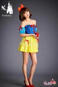 ハロウィンコスプレ白雪姫コスチューム白雪姫衣装大人即納コスチュームスノープリンセスワンピースドレスキャラクタークイーンパーティコスチューム対応ゆうパケット不可楽ギフ包装女性ハロウィンコスチューム