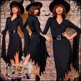 コスプレ 魔女 ウィッチ 大きいサイズ 魔法使い 衣装 コスチューム ハロウィン衣装 女性 仮装 レディース コスプレ衣装
