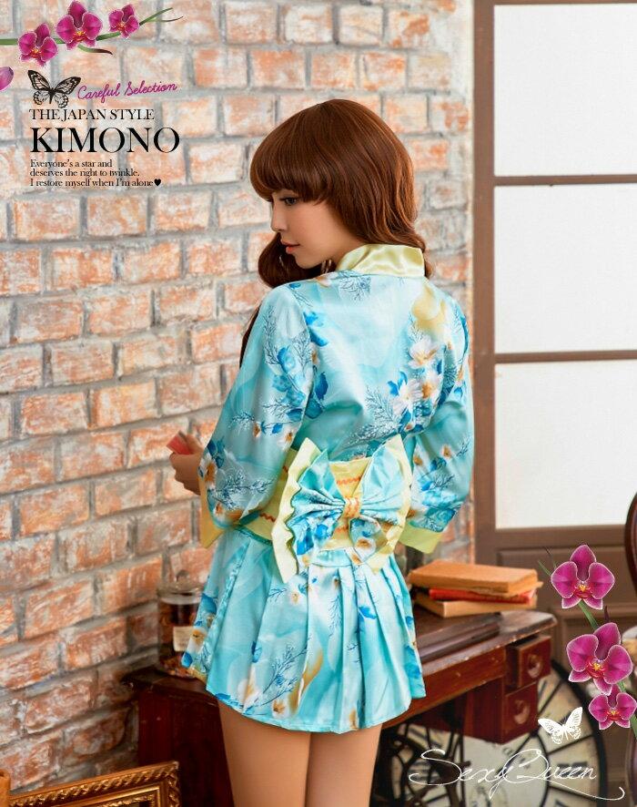 コスプレ和服着物コスチューム衣装仮装花魁和装ハロウィンコスプレ衣装着物ドレス帯レディース