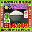 ■新米■29年産 宮城県産 つや姫 玄米 20kg (精米選択: 無洗米 18kg )【米】【無洗米】