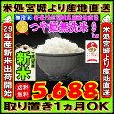 ■新米■29年産 宮城県産 つや姫 玄米 10kg (精米選択: 無洗米 9kg )【米】【無洗米】