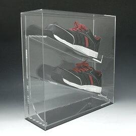 シューズ、スパイク記念コレクションケース25〜27.5センチ用アクリルケースディスプレイケースアクリルボックスシューズーケーススパイクケースシューズ収納BOX靴収納ケース