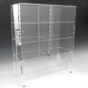 アクリル オーダー プラスチック オーダーメード コレクション ポリカーボネート フィギュア ディスプレイ