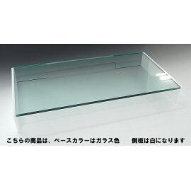 キーボード保護カバー1段引出しスモール&ミドルタイプベースガラス色側板ホワイト【キーボード】【パソコン】【アクリル】パソコン用キーボード保護カバーホコリやペット、幼児からキーボードを守ります