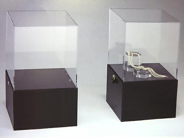 ディスプレイケース 照明付き W362mm×D362mm×H614mm【アクリルディスプレイ】【ディスプレイケース】【ディスプレイスタンド】:アクリル板・ケース とうめい館
