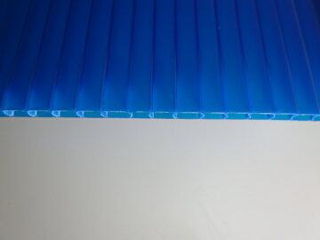 プラスチック段ボール-ブルー-厚さ(5ミリ)-断面図