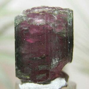【送料無料】ウォーターメロントルマリン(バイカラートルマリン)柱状結晶原石(ナチュラル)9【対応】