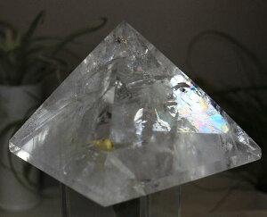 【送料無料】レインボークォーツピラミッド52【対応】