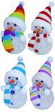 クリスマス 置物 スノーマン 雪だるま 『スノーマンLEDイルミネーション』【単価300円(税込)×1個】