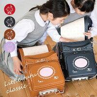 2020年リトルチュチュクラシックランドセル赤ずきんのランドセル女の子フィットちゃん刺繍日本製オリジナルネイビーキャメルレッド富士[FJN][新品番:11076]正規品