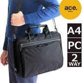 エースジーンレーベル ACEGENE LABEL フレックスライトフィット ビジネスバッグ A4対応 2WAYブリーフケース ショルダー 54557 ace. 送料無料 正規品