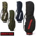 ブリーフィング ゴルフ キャディバッグ BRIEFING GOLF 正規品 BRG201D01 CR...
