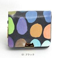 ツモリチサトミニ財布ミニウォレットtsumorichisatoマルチドット57271コンパクト2つ折財布ネコ猫ねこツモリチサトキャリーレディースtsumorichisatoCARRY小さい財布正規品ギフト